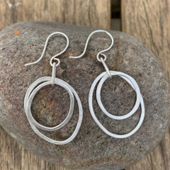 Double-Wobbly-Loop-Earrings