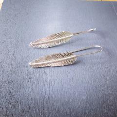 Feather-Earrings