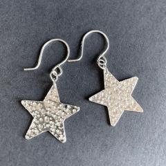 Meteor-hit-Star-Earrings