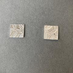 Square-Leaf-Pattern-Studs