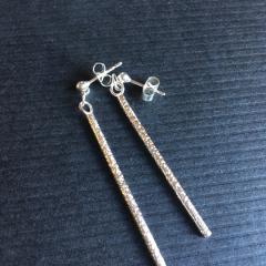 Shimmer Stick Earrings