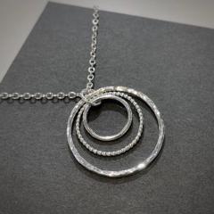 Three-circle-pendant-SOLD