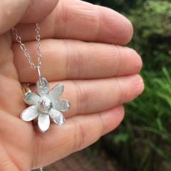 Small Flower Pendant