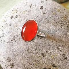 Carnelian-Ring