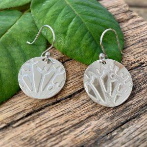 Branch Pattern Earrings