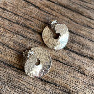 Curled - behind ear earrings