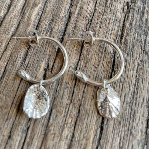 Limpet Shell Half Hoop Earrings